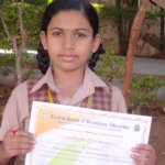 Winner of CBSE Expression Series on Mahatma Gandhi and Sanitation